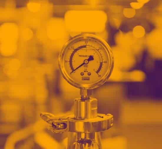 Invoice Finance Pressure Gauge